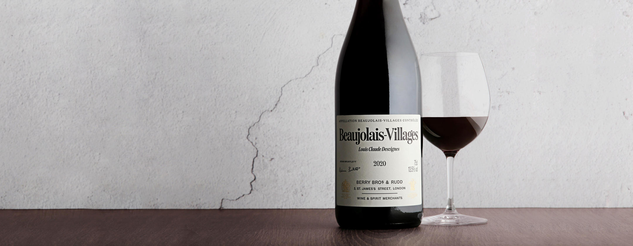 Just arrived _ The latest vintage of our Beaujolais-Villages