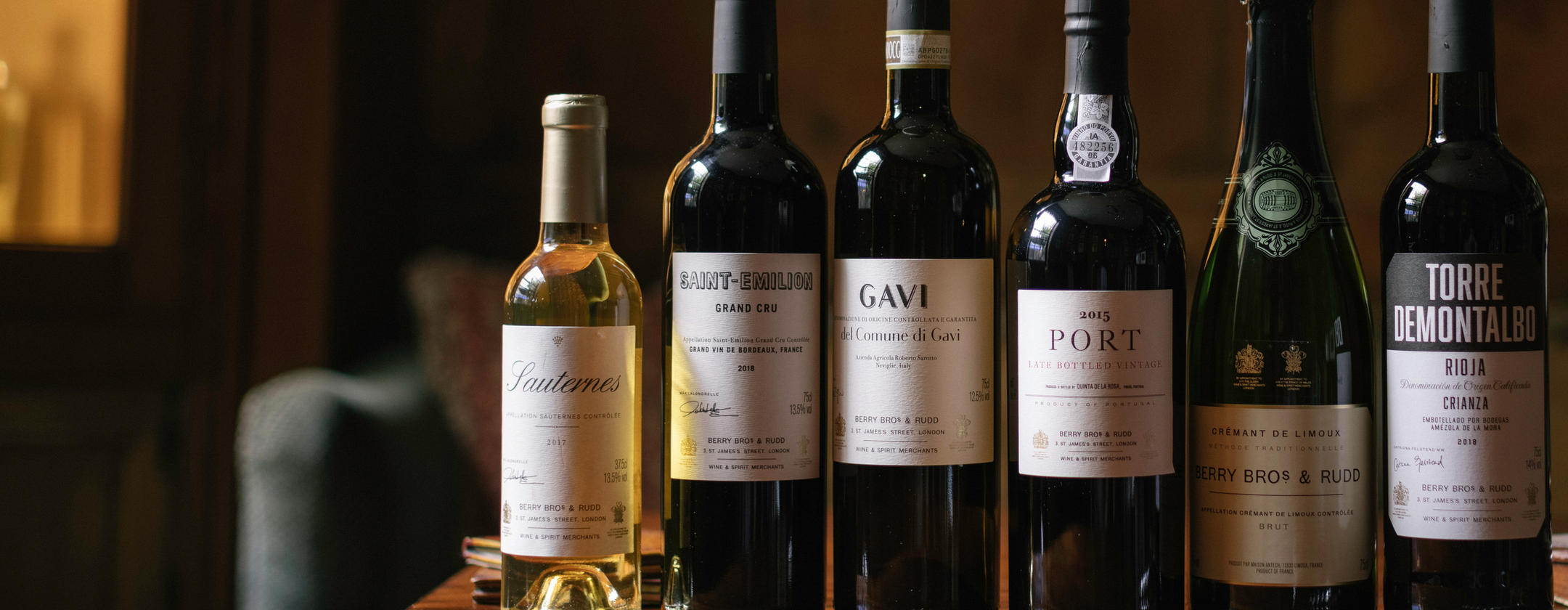 Dinner party<br>perfect _ A selection of wines<br>to accompany your evening.