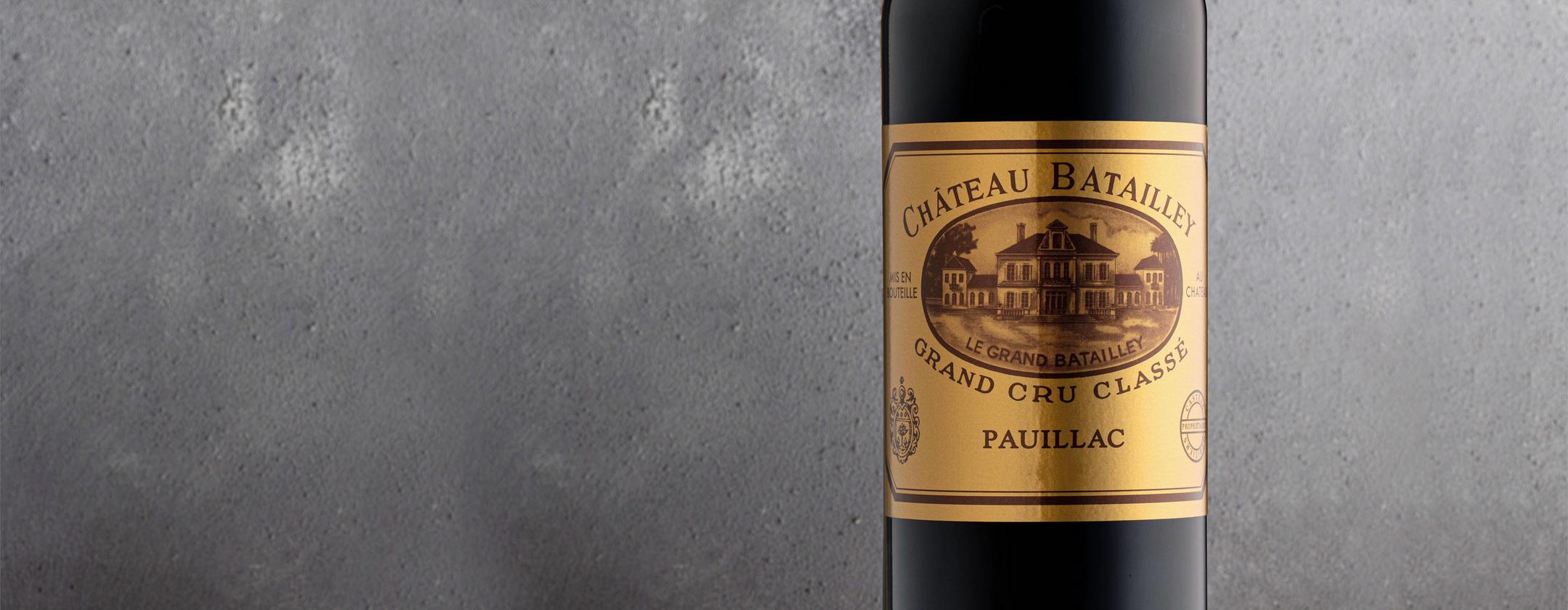 2016 Château Batailley, Pauillac _ A true customer favourite