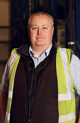 Chris Layland, Warehouse Manager at Berry Bros. & Rudd