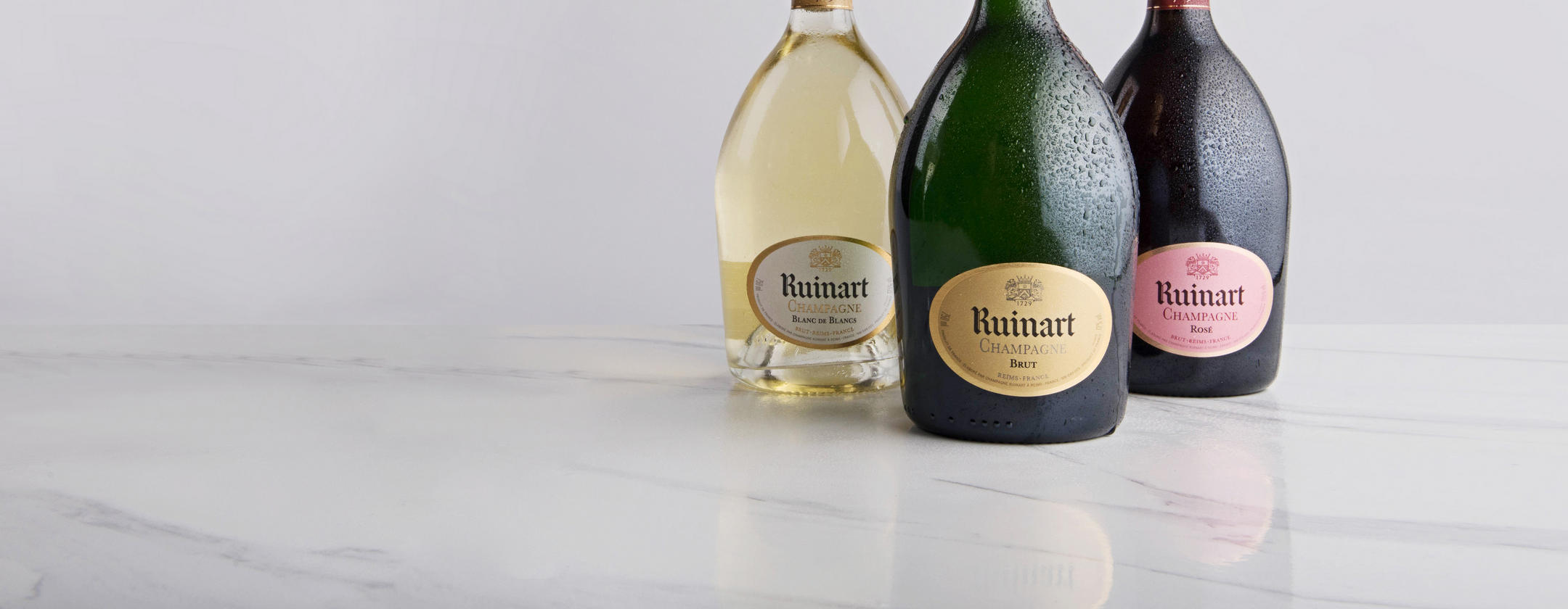 Save 20% on<br>Champagne Ruinart _ Ends midnight tonight