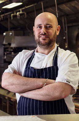 Stewart Turner the Head Chef at Berry Bros. & Rudd