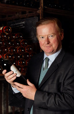 Tom Cave our Cellar Plan Manager at Berry Bros. & Rudd
