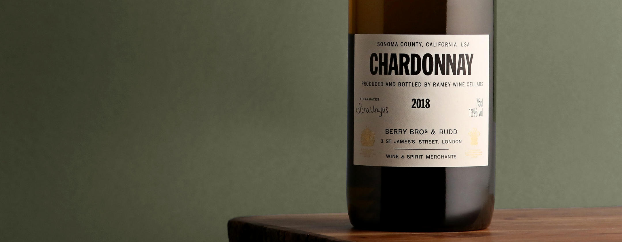 New to our Own Selection  _  Introducing our ripe and complex Chardonnay from California pioneer David Ramey
