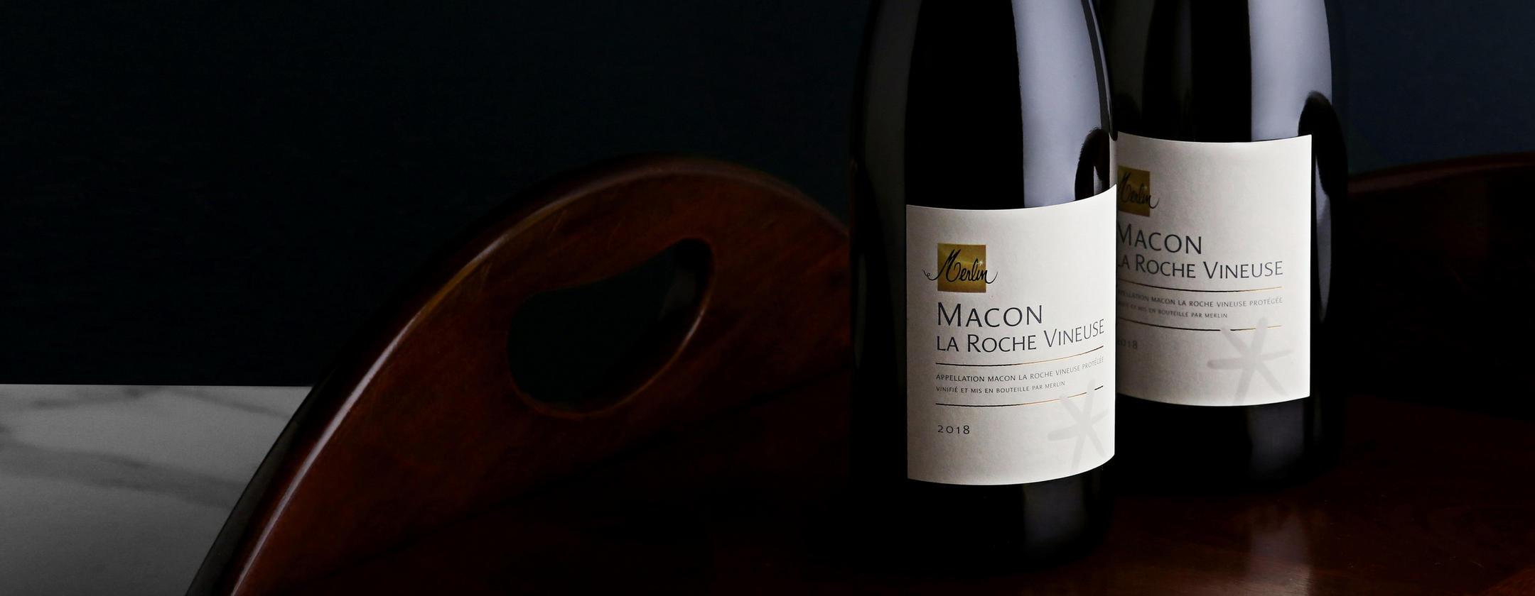 Crisp, clean and precise _ 2018 Mâcon La Roche Vineuse, Olivier Merlin