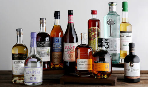 Our Own Selection spirits - Explore collectable whiskies, fine spirits and delicious gins