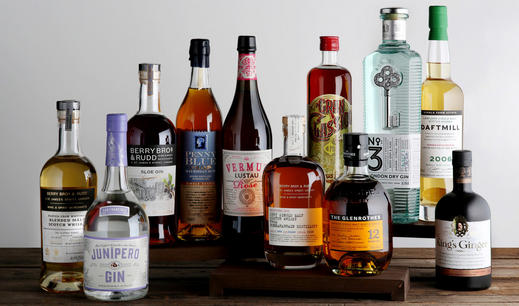 Our Own Selection Spirits available at Berry Bros. & Rudd