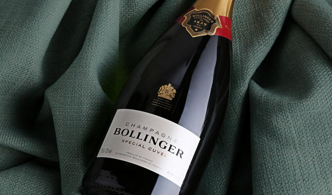 Save up to 25% on Champagne Bollinge