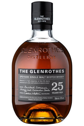 The Glenrothes, 25-year-old, Speyside, Single Malt Scotch Whisky (43%)