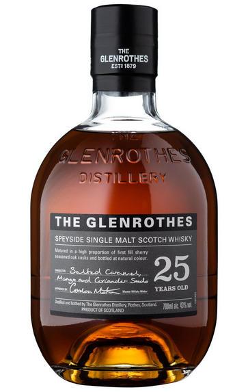 The Glenrothes, 25-year-old, Speyside, Single Malt Scotch Whisky (43%)