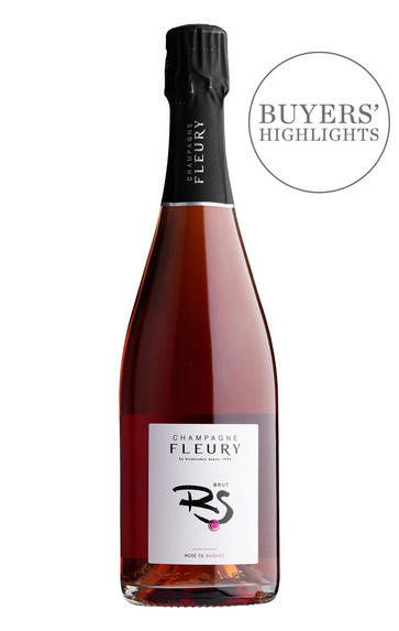 Champagne Fleury, Rosé de Saignée, Brut