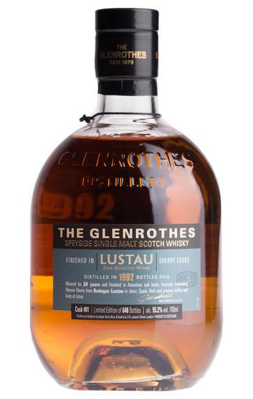 The Glenrothes, The Wine Merchant's Cask, Lustau No. 1 (55.2%)