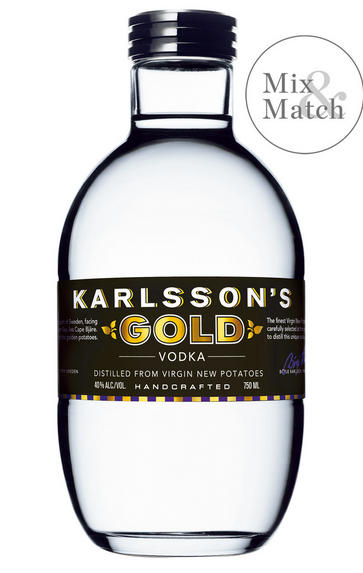 Karlsson's Gold Vodka, Sweden, (40.0%)