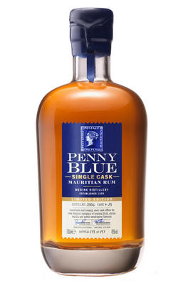 Penny Blue, Single Cask No. 28 Mauritian Rum, 45.0%