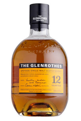 The Glenrothes, 12-year-old, Speyside, Single Malt Scotch Whisky (40%)
