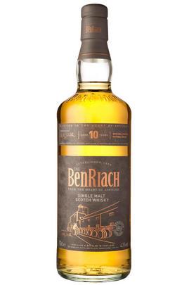 BenRiach, 10-year-old, Speyside, Single Malt Scotch Whisky (43%)
