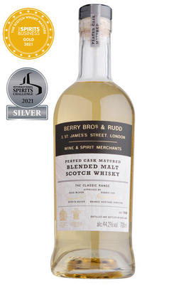 Berry Bros. & Rudd Classic Peated Cask, Blended Malt Scotch Whisky (44.2%)