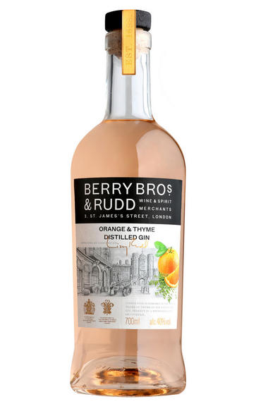 Berry Bros. & Rudd Classic Orange & Thyme Distilled Gin (40%)