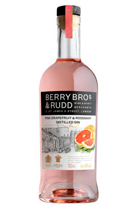 Berry Bros. & Rudd Classic Pink Grapefruit & Rosemary Distilled Gin (40%)