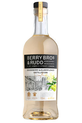 Berry Bros. & Rudd Elderflower & Gooseberry Distilled Gin (40%) (40%)