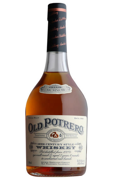 Old Potrero 18th Century Style Pot Distilled Whiskey Single Malt 51.2%