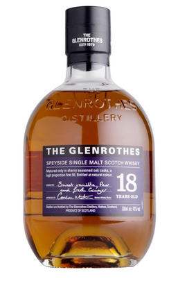 The Glenrothes, 18-year-old, Speyside, Single Malt Scotch Whisky (43%)
