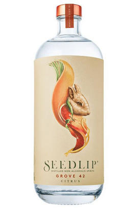 Seedlip Grove 42, Citrus, Gift Box, Distilled Non-Alcoholic Spirit