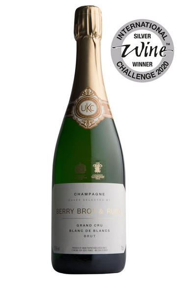 Berry Bros. & Rudd Blanc de Blancs Champagne by Le Mesnil, Grand Cru, Brut