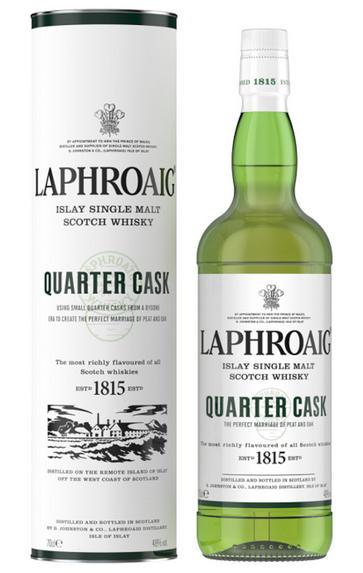 Laphroaig, Quarter Cask, Islay, Single Malt Scotch Whisky (48%)