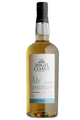 High Coast, Älv, Delicate Vanilla, Whisky, Sweden 46%