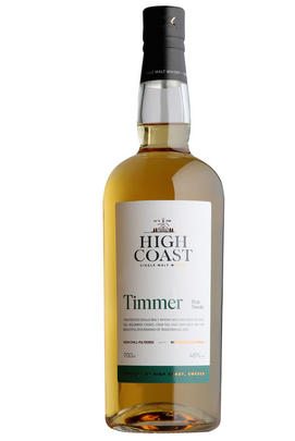 High Coast, Timmer, Peat Smoke, Whisky, Sweden 48%