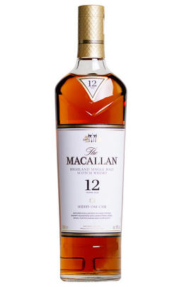 Macallan 12-year-old, Sherry Oak, Speyside, Single Malt Whisky (40%)