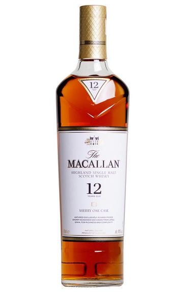 Macallan 12-year-old, Sherry Oak, Speyside, Single Malt Whisky (40%)