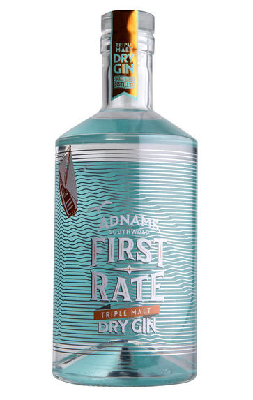 Adnams First Rate Triple Malt Dry Gin (45%)