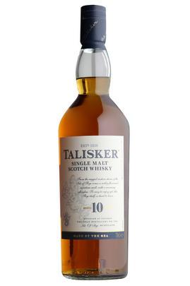 Talisker, 10-year-old, Island, Single Malt Scotch Whisky (45.8%)