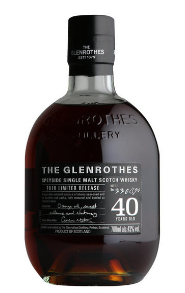 Glenrothes 40-Year-old, Speyside, Single Malt Scotch Whisky (43%)