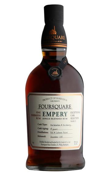 Foursquare, Empery, Bourbon and Sherry Casks, Barbados Rum (56%)