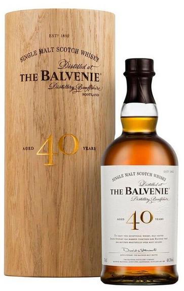 Balvenie 40-year-old, Speyside, Single Malt Whisky, (48.5%)