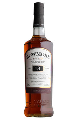 Bowmore 18-year-old, Islay, Single Malt Whisky, 43%
