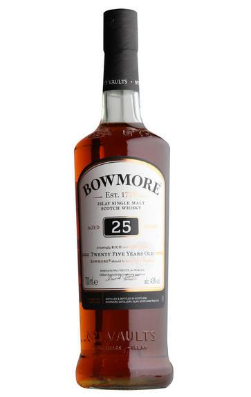 Bowmore 25-year-old, Islay, Single Malt Whisky, 43%