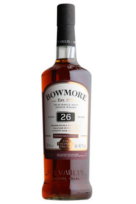 Bowmore 26-year-old, French Oak, Single Malt Scotch Whisky, (48.7%)