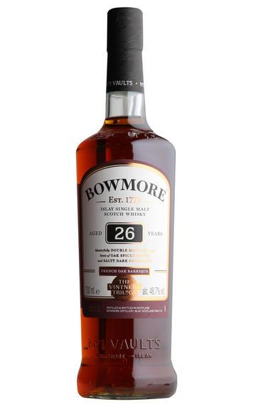 Bowmore 26-year-old, French Oak, Single Malt Scotch Whisky, (48.7%)