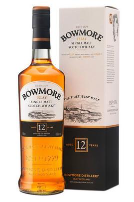 Bowmore, 12-year-old, Islay, Single Malt Whisky, 40.0%