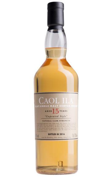 Caol Ila 15 Year Old, Unpeated, Bottled 2018