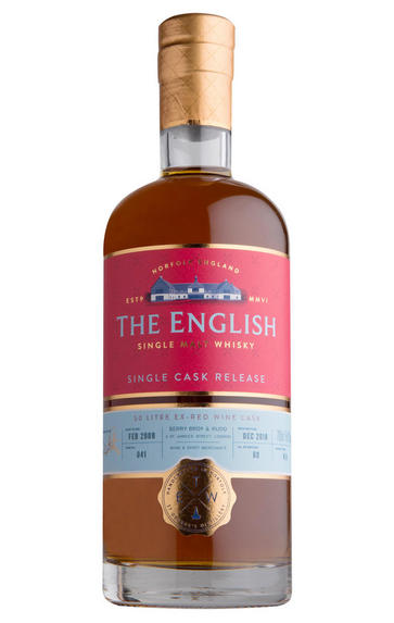 English Whisky Unpeated Quarter Cask, Single Malt Whisky, (45%)