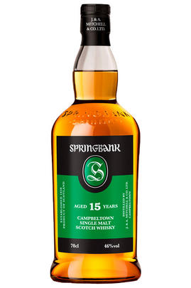 Springbank 15-year-old, Campbeltown, Single Malt (46%)