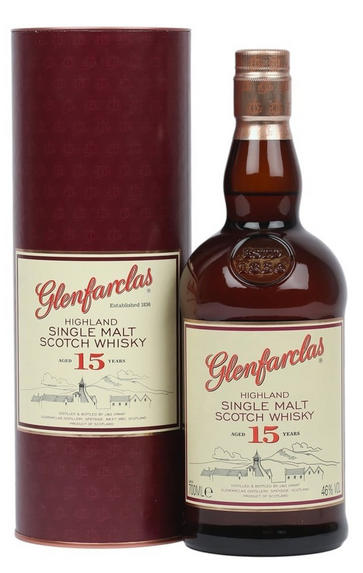 Glenfarclas, 15-year-old, Speyside, Single Malt Scotch Whisky (46%)