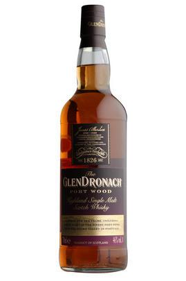 Glendronach, 10-Year-Old, Port Wood Single Malt Scotch Whisky,(46%)