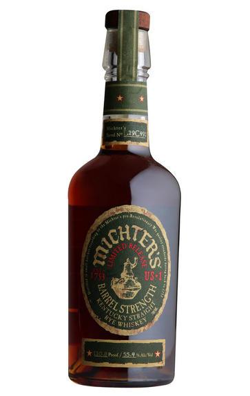 Michter's Barrel Strength Rye, Kentucky, Whiskey, (55.4%)