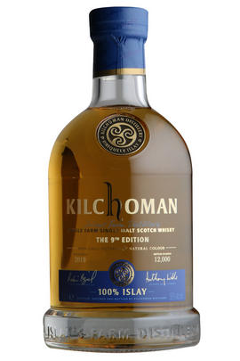 Kilchoman, 100% Islay, 9th Edition, Single Malt Scotch Whisky (50%)